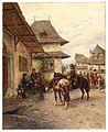 Ludwig Gedlek Rast der Reiter.jpg