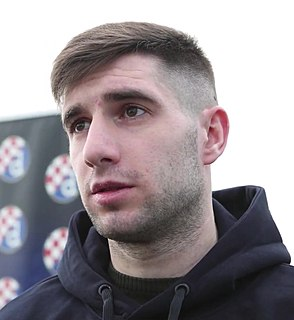 Luka Ivanušec Croatian footballer