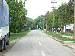 Lukićevo, the main street.jpg