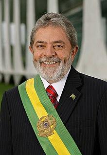 Портрет Луиса Инасио Лула да Силва