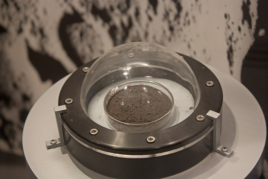 Lunar Regolith 70050 from Apollo 17