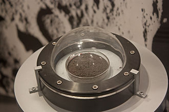 Lunar soil - Regolith collected during Apollo 17 mission