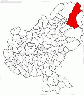 Lunca Bradului Commune in Mureș, Romania