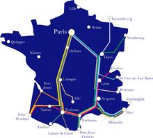 Carte du r 233 seau intercit 233 s de nuit en 2012