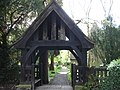 Lych Gate Nr Hollington East Sussex - geograph.org.uk - 166635.jpg