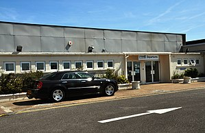 Lydd Airport - The current terminal