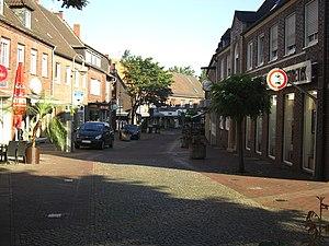 Stadtlohn - Image: Mühlenstraße Stadtlohn