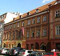 Měšťanský dům U P. Marie na zlaté skále (Staré Město), Praha 1, Dlouhá 30, Staré Město.JPG