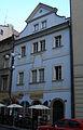 Městský dům U Pštrosů (Staré Město), Praha 1, Linhartská 2, Staré Město.JPG