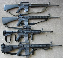 Fusil M16 - Wikipedia, la enciclopedia libre R15 Arma