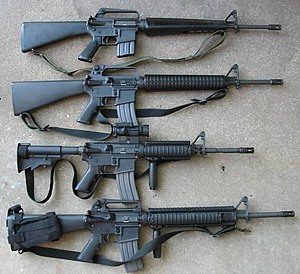 M16 rifle - Wikipedia