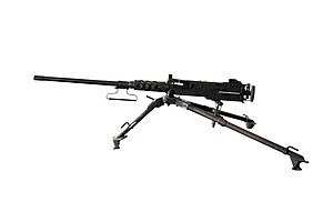 M2 machine gun at Musee de l Armee-IMG 7566-white.jpg