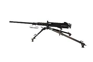 M2 Browning Type of heavy machine gun