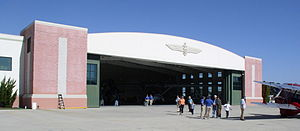 Military Aviation Museum - US Navy hangar, location of the Catalina, along with other US Navy planes