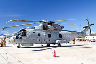 814 Naval Air Squadron - 814 Squadron Merlin HM.2 at the 2015 Malta International Airshow