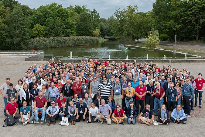 Group photo of participants of WikiCon 2016