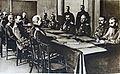 M 135 6 le grand conseil de guerre russe Ivanof Klembosky Brousiloff Nicolas II Kourpatkine Sivers Poustovoïtenko Chouvaef min de la guerre.jpg