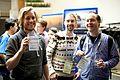 Maarten Zeinstra, Maarten Brinkerink and Maarten Dammers at the GLAM WIKI UK 2013 - Flickr - Sebastiaan ter Burg.jpg