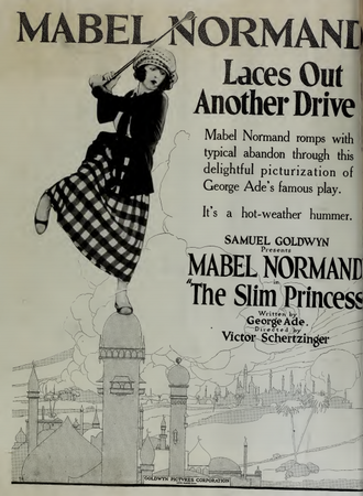 The Slim Princess - 1920 theatrical poster
