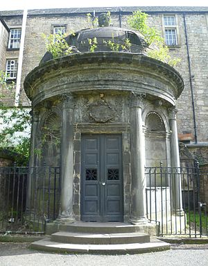 George Mackenzie of Rosehaugh - Mackenzie mausoleum in Greyfriars, Edinburgh