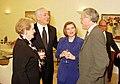 Madeleine Albright, Martin Indyk, Benjamin Netanyahu, and Mrs. Netanyahu.jpg