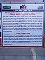 Maharashtra Tourism Information Board at Lonar Crater.jpg