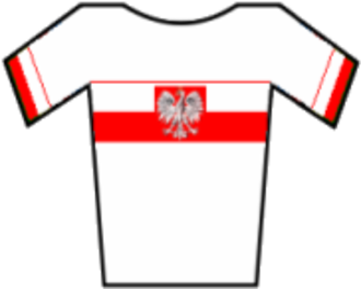 Rafał Majka - Image: Maillot Polonia