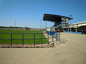F.C. Ferreiras - Image: Main Stand Estádio da Nora 2 June 2015 (1)