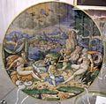 Maiolica di urbino, leda e il cigno, 1550-74.jpg