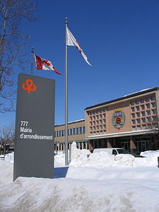 Saint-Laurent borough hall.