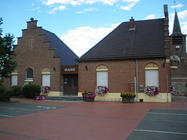 The town hall in Genech