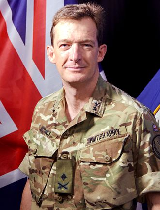 Rupert Jones (British Army officer) - Jones in August 2016