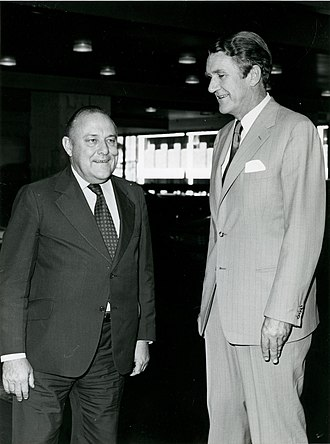 Robert Muldoon - Muldoon and Australian Prime Minister Malcolm Fraser, meeting in 1978 for a Regional Commonwealth Heads of Government Meeting in Sydney