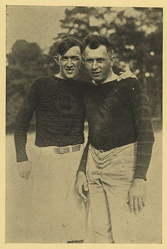 Frank B. Anderson - Anderson on the left next to Kirby Malone.