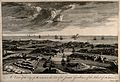 Malta; view of the city. Etching by M-A. Benoist, c. 1770, a Wellcome V0014678.jpg