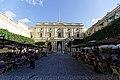 Malta - Valletta - Republic Street & Republic Square - Queen Victoria Statue & National Library of Malta.jpg