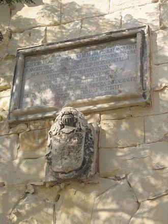 Gregorio Carafa - Image: Malta St Angelo three
