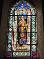 Mametz (Pas-de-Calais, Fr), église de Crecques, vitrail 02.JPG
