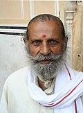 Man with a beard, Jaipur, Rajasthan, India.jpg