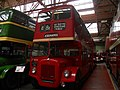 Manchester Corporation bus 4632 (4632 VM), Museum of Transport in Manchester, 2 June 2012.jpg