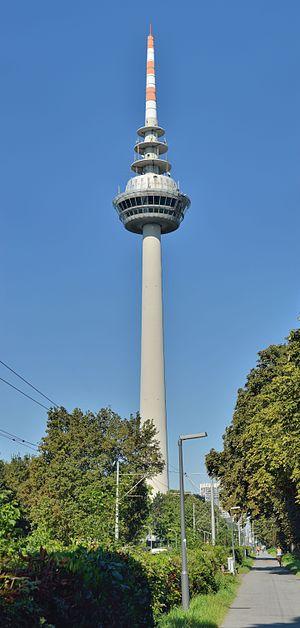 Fernmeldeturm Mannheim - Fernmeldeturm Mannheim