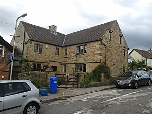 Listed buildings in Sheffield S13 - Image: Manor Farmhouse