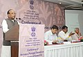 Mansukhbhai Dhanjibhai Vasava addressing at the inauguration of the Conference of State Tribal Welfare Ministers Principal Secretaries Secretaries to evolve strategies for overall development of tribal communities.jpg
