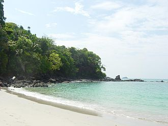 Manuel Antonio National Park - One of the park's beaches