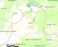 Map commune FR insee code 30029.png