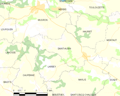 Map commune FR insee code 40249.png