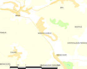 Map commune FR insee code 62581.png