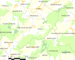 Map commune FR insee code 70399.png
