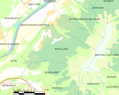 Map commune FR insee code 73048.png