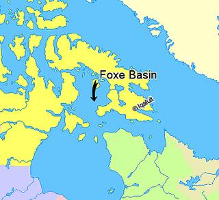 Foxe Basin northern part of Hudson Bay, Canada